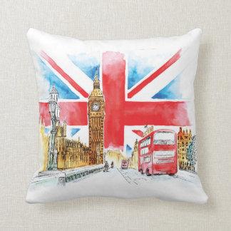 London Big Ben Pillow