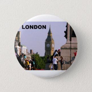 London Big Ben (St.K) 6 Cm Round Badge
