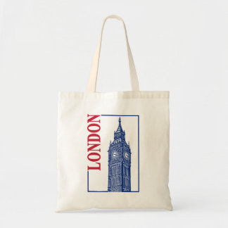 London-Big Ben Tote Bag