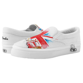 London Big Big Ben On Shoes, UK: 3 / EUR: 35.5 Slip-On Shoes
