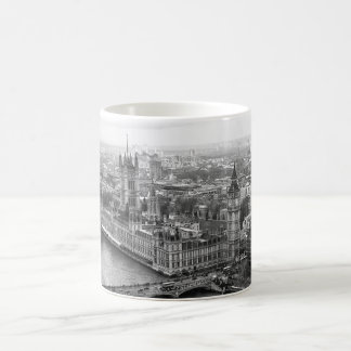 London Black and White Coffee Mug