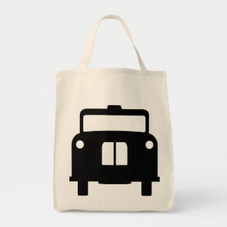 London Black Taxi/Cab Design Tote Bag