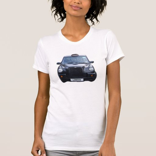 London Black Taxi Cab Tee Shirts