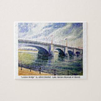 London Bridge by Alfred Zwiebel Jigsaw Puzzle