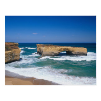 London Bridge, Great Ocean Road, Victoria, Postcard