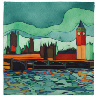 London Bridge Napkin