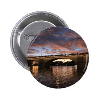 London Bridge Pinback Button
