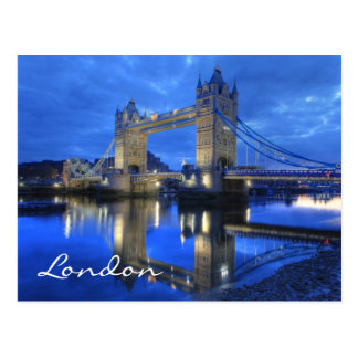 London Bridge Postcard
