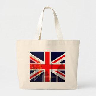 London-British Flag_ Jumbo Tote Bag
