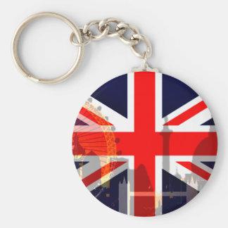 London-British Flag_ Keychains