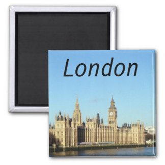 London, British parliament and the BigBen Magnet