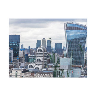 London buildings canvas print