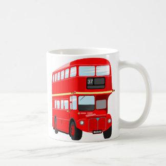 London Bus Basic White Mug