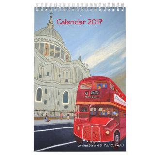 London Bus Calendar 2017