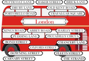 Famous London Bus Gifts on Zazzle AU