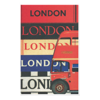 London bus stationery