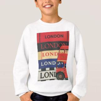 London bus sweatshirt