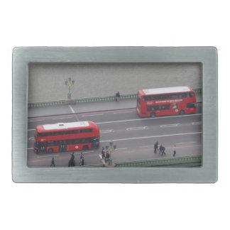 London Busses Belt Buckle