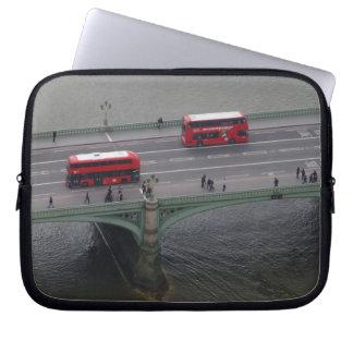 London Busses Neoprene Laptop Sleeve 10 inch
