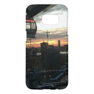 London Cable car Sunset Phone Case