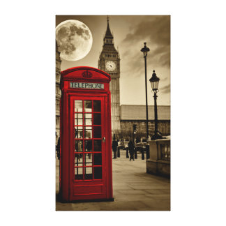 London Calling Canvas Print