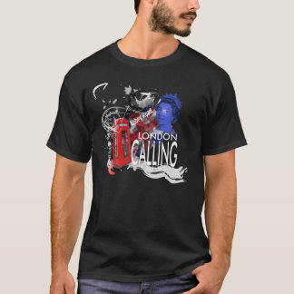 London Calling England  Dark T-shirt