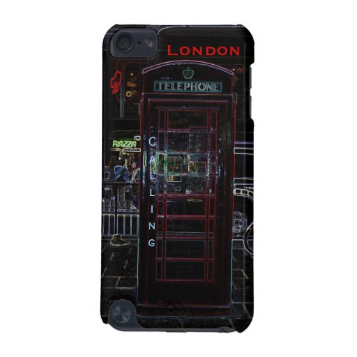 London Calling iPod Touch 4 Case iPod Touch 5G Covers