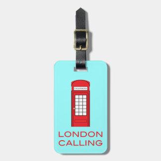 LONDON CALLING - Luggage Tag