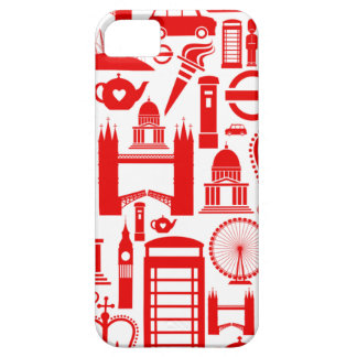 London Calling Retro Graphic iPhone 5 Cases