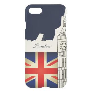 London City Big Ben Union Jack Flag iPhone 7 Case