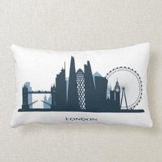 London City Skyline Lumbar Cushion