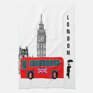 London City Tea Towel