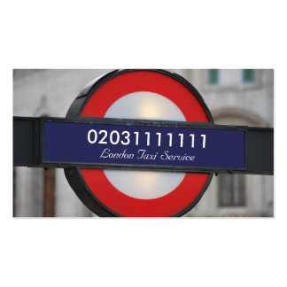 London City Travel Close Up Pack Of Standard Business Cards
