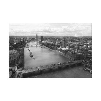 London City View Canvas Print