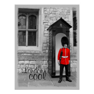 London Cool - Soldier Parade Poster