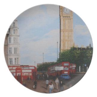 London Corner Plate