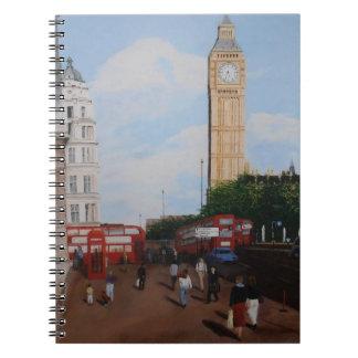 London Corner Spiral Notebook