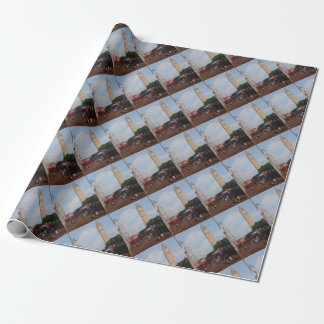 London Corner Wrapping Paper