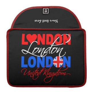 London custom MacBook sleeve Sleeves For MacBook Pro