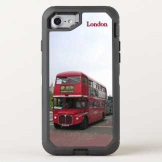 London Double-decker Bus Custom OtterBox Defender iPhone 7 Case