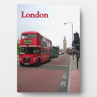 London Double-decker Bus Display Plaque
