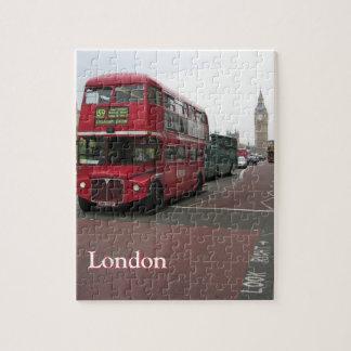 London Double-decker Bus Jigsaw Puzzle