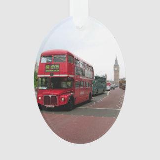 London Double-decker Bus Ornament