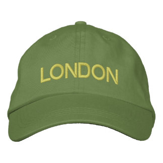 LONDON EMBROIDERED HAT