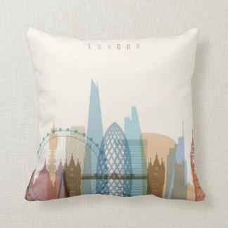 London, England | City Skyline Cushion