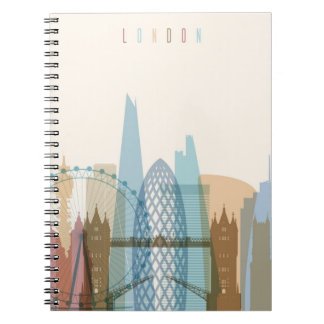 London, England | City Skyline Notebooks