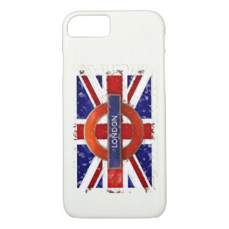 London, England, Great Britain, Union Jack, Flagge iPhone 8/7 Case
