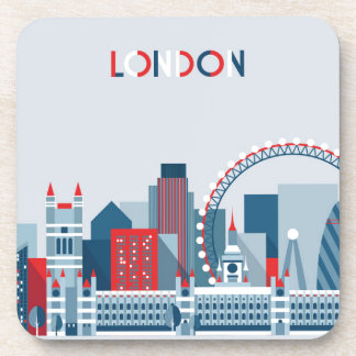 London, England | Red, White and Blue Skyline Coaster