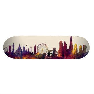 London England Skyline Skate Board