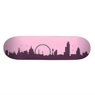 London England Skyline Skate Board Deck